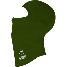 HAD Merino Balaclava, army green